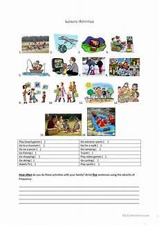 leisure time esl worksheets 3799 leisure activities worksheet free esl printable worksheets made by teachers