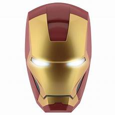 philips marvel iron man 3d led wall light including 3aa batteries gold philips lighting