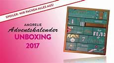 amorelli adventskalender 2017 amorelie adventskalender 2017 unboxing achtung spoiler
