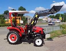 kleintraktor mit frontlader und strassenzulassung traktor kleintraktor eurotrack 254e mit frontlader allrad