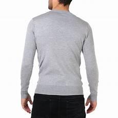 herren pullover v ausschnitt weiche baumwolle einfarbig