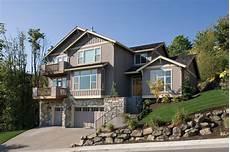 Haus In Hanglage - hillside home plan 6953am architectural designs