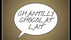 Chantilly Chocolat Au Lait