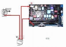 alternator b wiring toyota fj cruiser