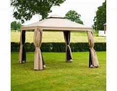 luxus pavillon 3x4 meter beige