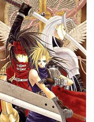 Image result for FF7 Manga
