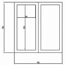 dimension d une porte standard porte fenetre dimension