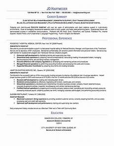 administrative assistant sle resume resumewriting com