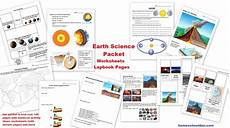 earth science worksheets doc 12173 earth science packet layers of the earth plate tectonics earthquakes volcanoes 4 types of