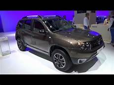 dacia duster black touch 2017 dacia duster black touch exterior and interior