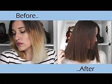 dying hair lighter with box dye dying ombre nom 2 chit chatty
