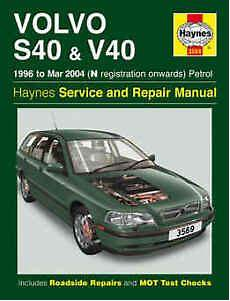 best auto repair manual 2003 volvo s40 electronic valve timing volvo s40 repair manual haynes workshop service manual 1996 2004 3569 ebay