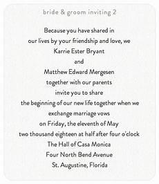 Sle Wedding Invitation Text Message