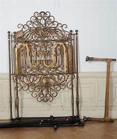 letti in ferro battuto antichi letto in ferro battuto dorato antiquariato e dipinti