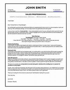 sales professional resume template premium resume sles exle cover letter for resume