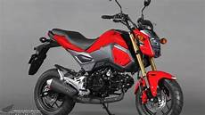 2017 Honda Grom 125 Motorcycle Changes Specs Review