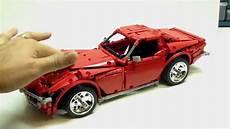 lego technic corvette review madoca