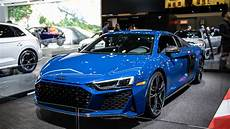 2020 r8 gets new look 200 mph top speed for all models