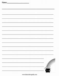 lined paper handwriting worksheets 15687 st s day lesson plans themes printouts crafts
