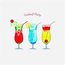 cocktailkarte vorlage gut aquarell cocktail vorlage