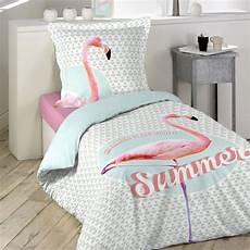 housse de couette 140 housse de couette et une taie coton 140 cm summer pink