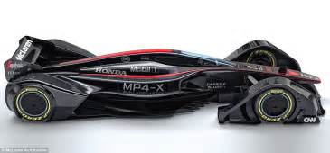 McLaren Unveil MP4 X F1 Concept Car Controlled By Drivers