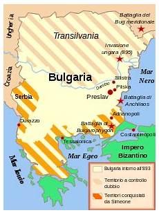 storia impero ottomano primo impero bulgaro