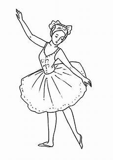 kleurplaat ballet ballett 5 ausmalbilder