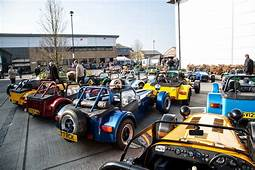 Caterham Cars Opens New Showroom  Get Surrey