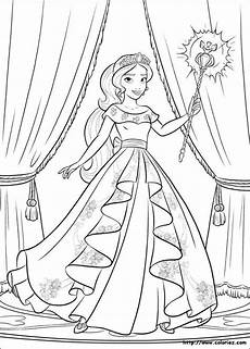 princess of avalor colouring page malvorlage