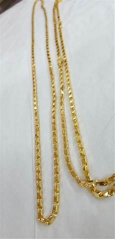 jual kalung balok lapis emas kuning 24 di lapak rizki ramadhani tensha86