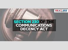 Section 230 Of The Communications Decency Act,What's Section 230? Everything you need to know about free|2021-01-01