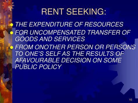 Rent Seeking