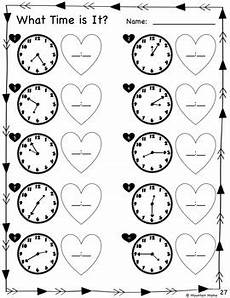 2nd grade valentine math literacy activities