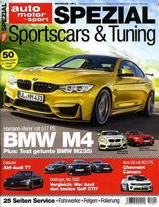 Auto Motor Und Sport Bringt Das Spezial Sportscars