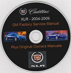 free auto repair manuals 2004 cadillac xlr lane departure warning cadillac xlr 2004 2009 original gm shop service manual plus owners manuals ebay