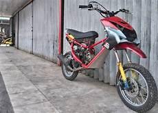 Mio Modif Trail by Modifikasi Mio Soul Trail Modifikasi Motor Kawasaki
