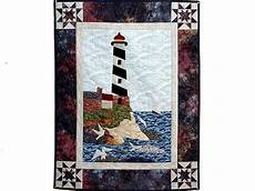 amish wall quilts northeastern lighthouse wall hanging house quilt patterns nautical quilt