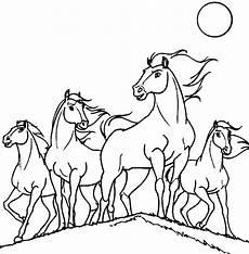 ausmalbild pferd spirit kinder ausmalbilder