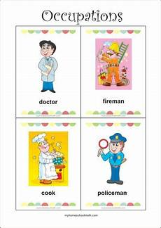 german phonics worksheets 19703 occupations free printable flash cards for preschool learning with images printable