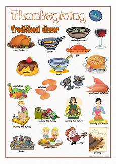 thanksgiving pictionary 2 worksheet free esl printable worksheets made by teachers