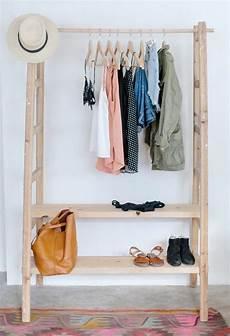 portant v 234 tements en bois design rangement habits