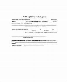 sle rent receipt formats 9 exles in word pdf