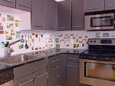 How To Make A Kitchen Backsplash How To Creating A Magnetic Backsplash Hgtv