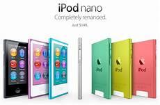 ipod nano generationen apple announces new 7th generation ipod nano the mac