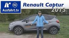 2013 Renault Captur Tce 120 Edc Luxe Fahrbericht Der