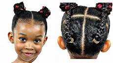 hair tutorial for little girls natural hairstyles youtube