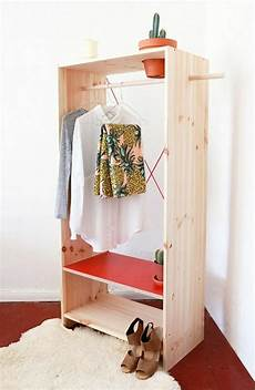 offener kleiderschrank selber bauen ankleidezimmer selber bauen bastelideen anleitung und