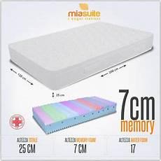 materasso prezzi materasso una piazza e mezza 120x200 h 25 cm in memory