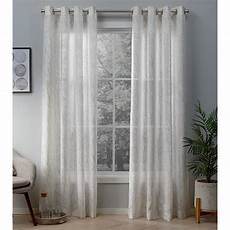 White And Gold Curtains